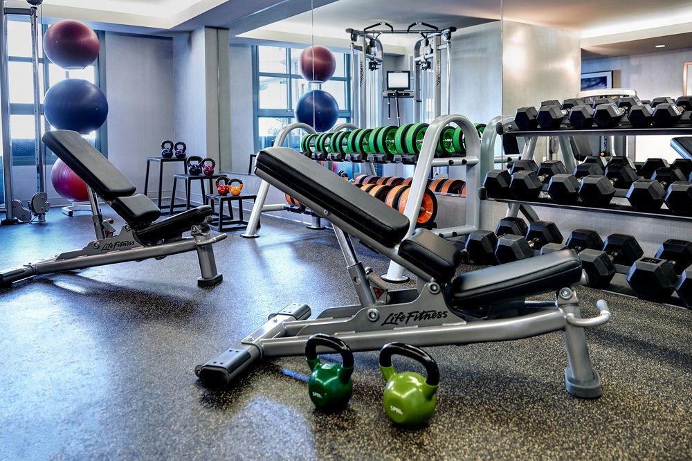 structure gym sport venue leisure muscle