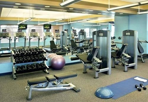 structure gym sport venue leisure physical fitness office