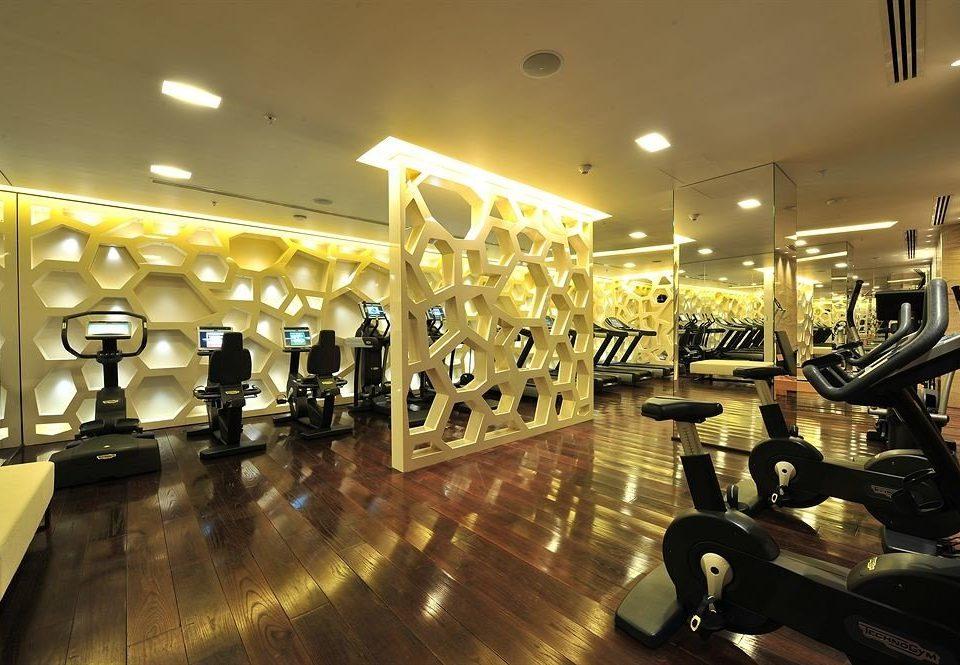structure sport venue lighting gym restaurant