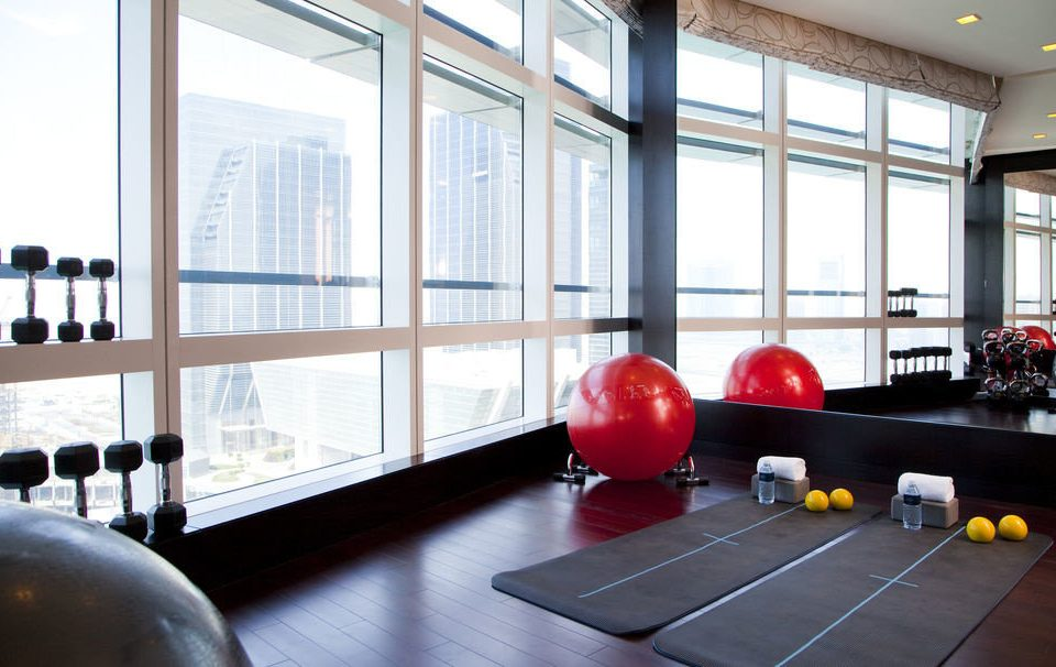 structure sport venue gym living room office physical fitness