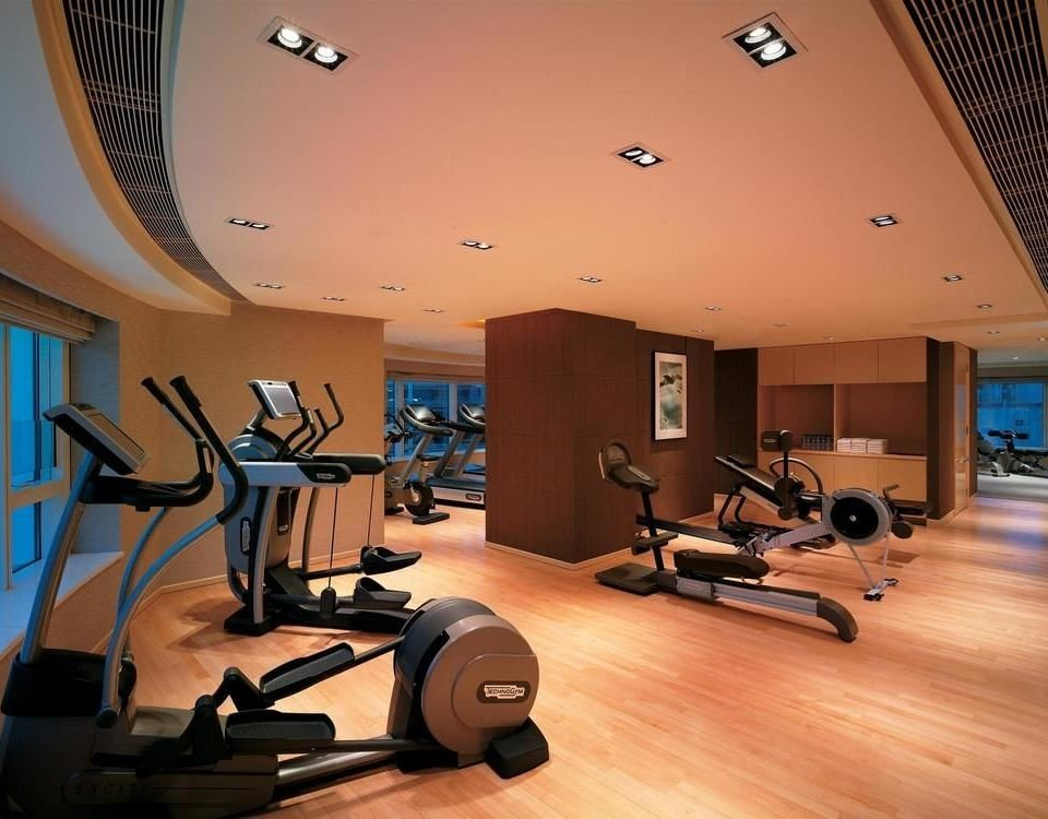 structure property sport venue gym physical fitness living room