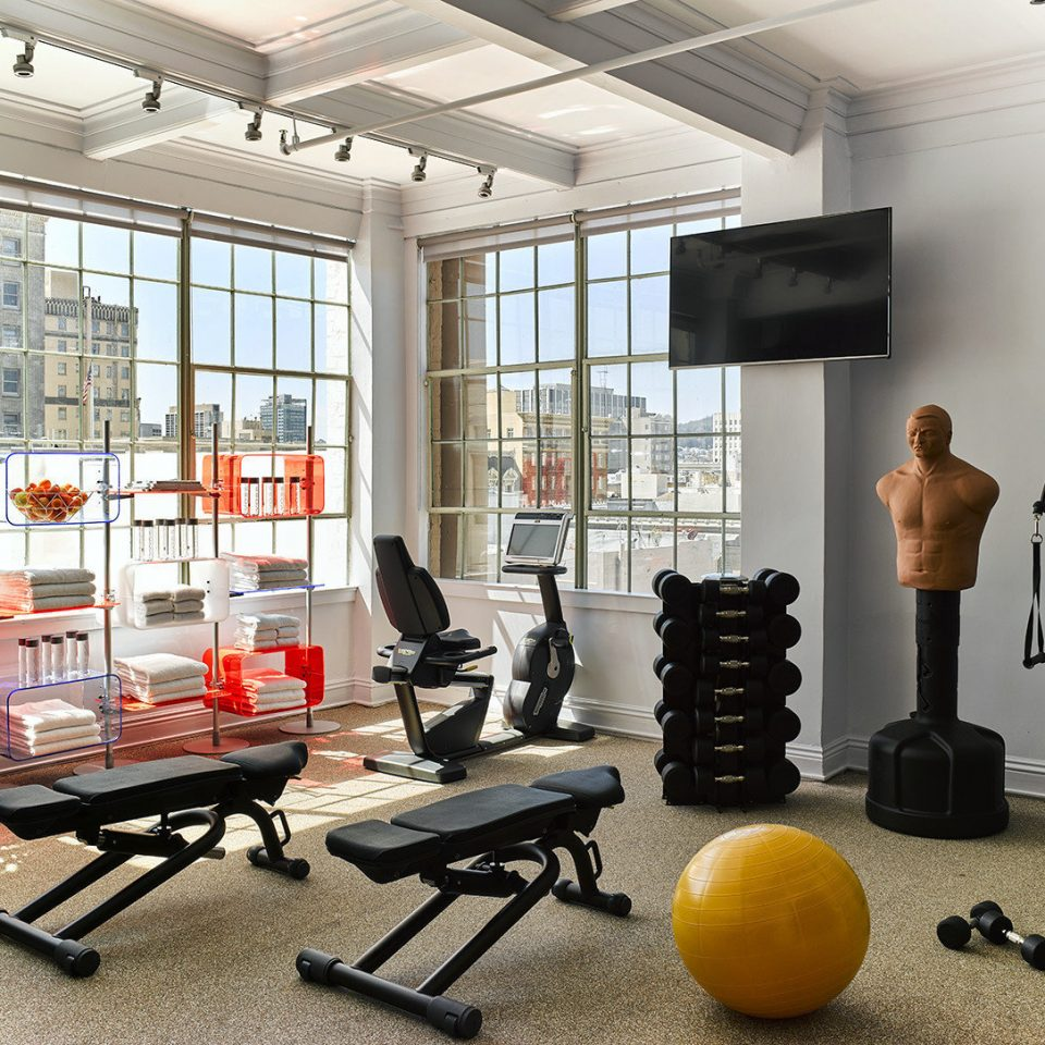 structure gym sport venue living room physical fitness