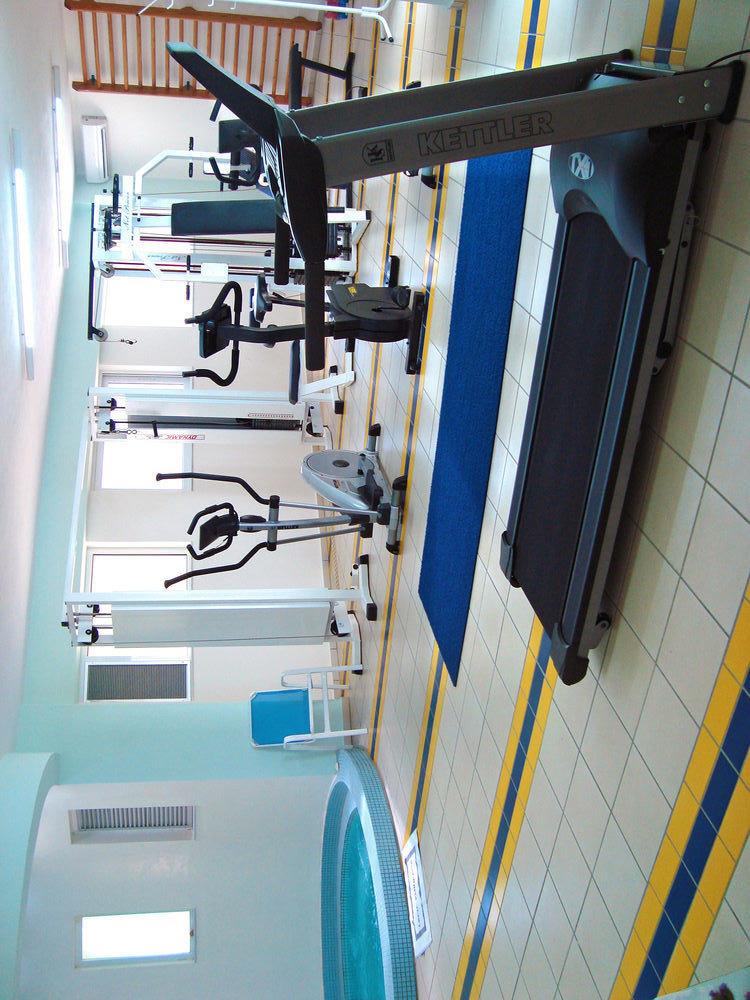 man made object structure sport venue machine gym machine tool
