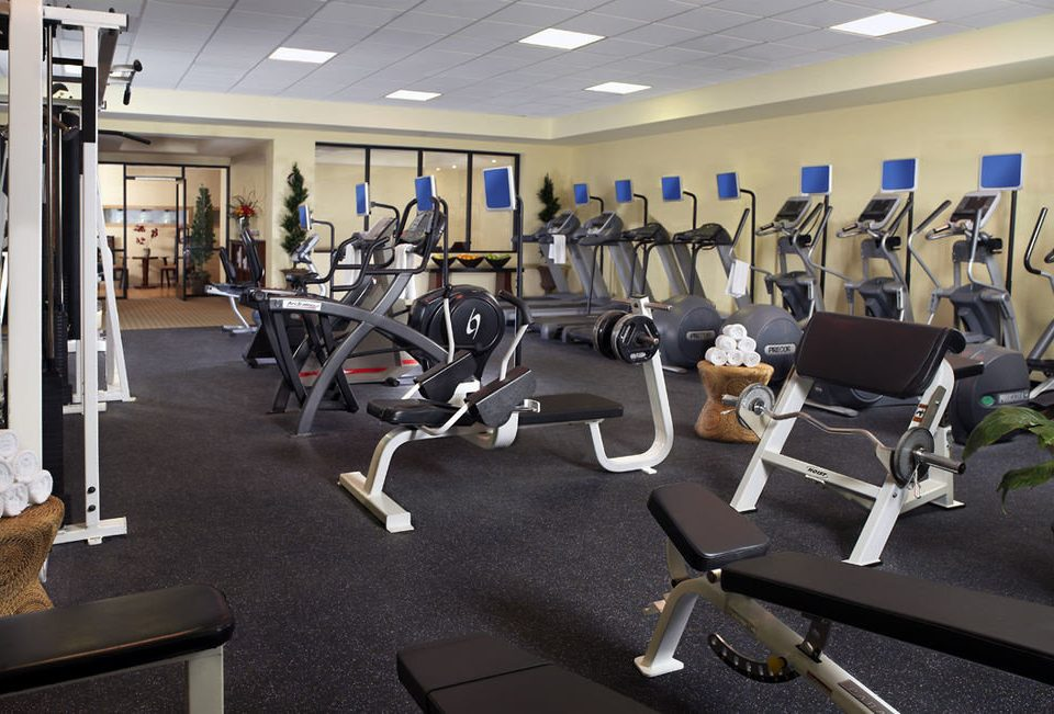 structure gym sport venue office muscle physical fitness