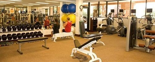 structure gym sport venue muscle office strength training