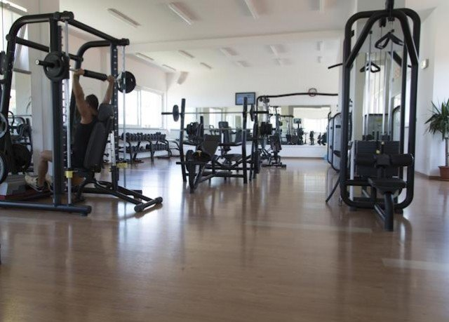 structure gym sport venue muscle physical fitness