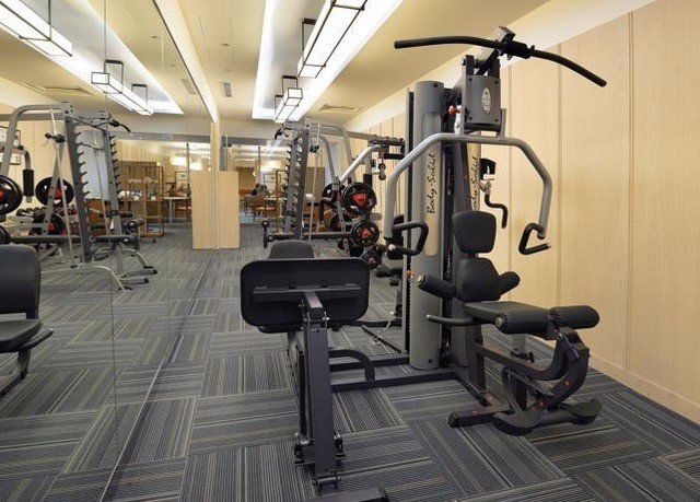 structure gym sport venue muscle