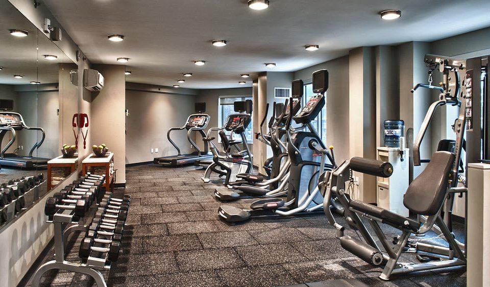 structure gym sport venue muscle