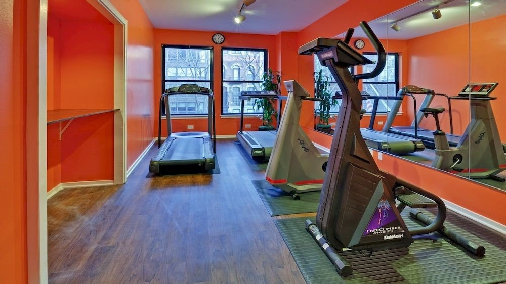 structure sport venue orange gym