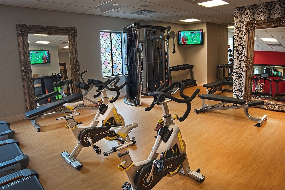 structure gym sport venue recreation room physical fitness physical exercise