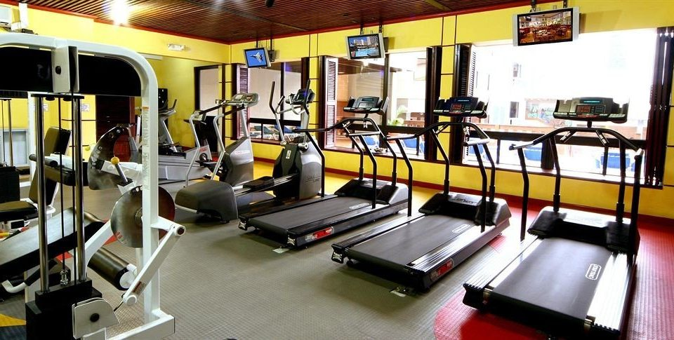 structure gym sport venue public transport physical fitness