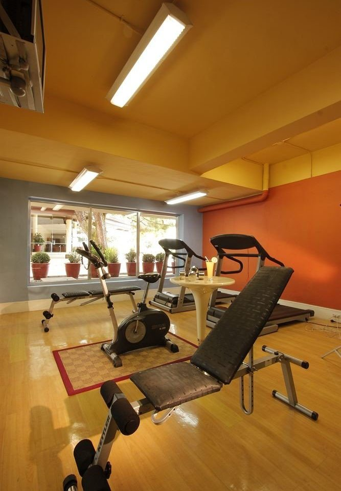 structure gym sport venue recreation room physical fitness