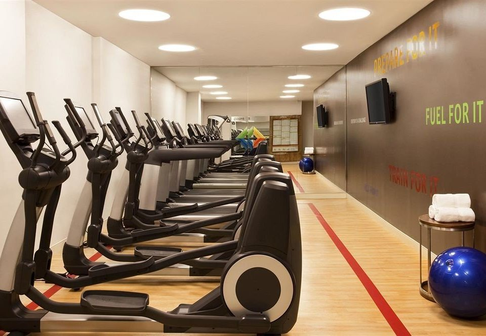 structure gym sport venue physical fitness