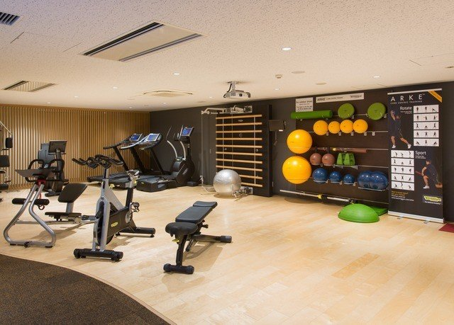 structure sport venue gym recreation room