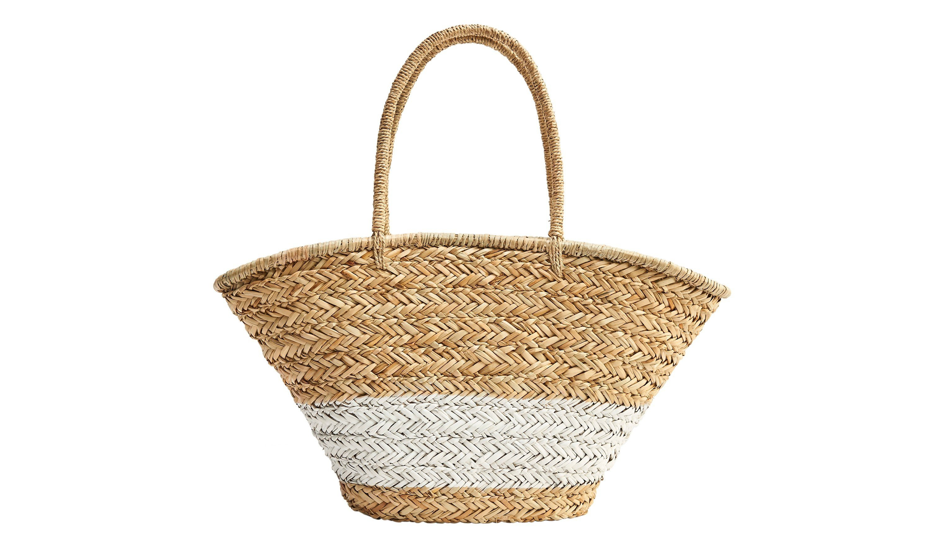 Style + Design basket product lighting straw container