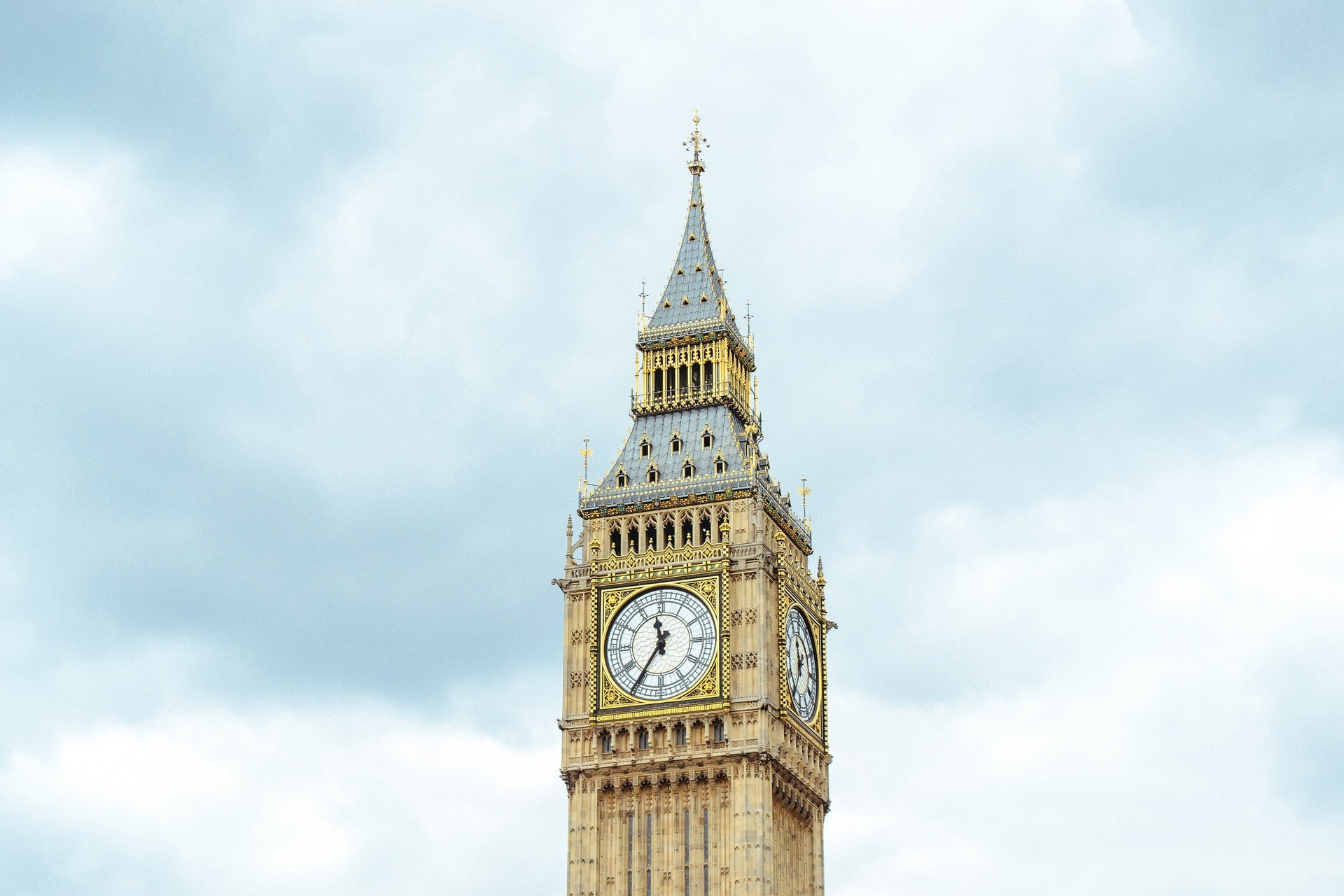 Architecture attraction City clock clock tower England Historic skyscrapers tower Trip Ideas sky outdoor building landmark spire steeple bell tower tall day