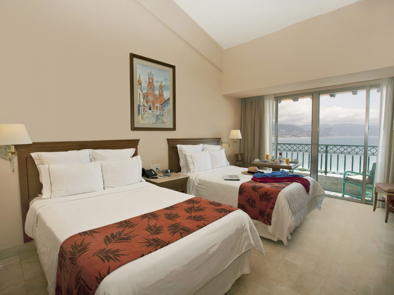All-Inclusive Resorts Hotels bed indoor wall floor room sofa Bedroom window hotel ceiling Suite real estate interior design bed frame estate pillow decorated furniture