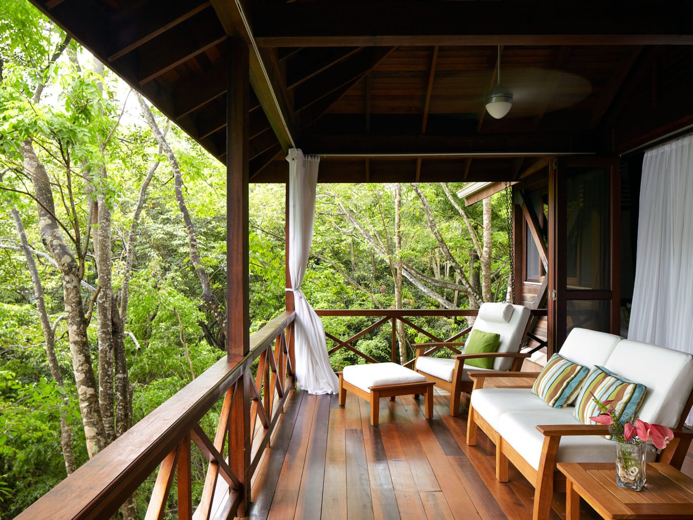 Deck at Secret Bay, Dominica