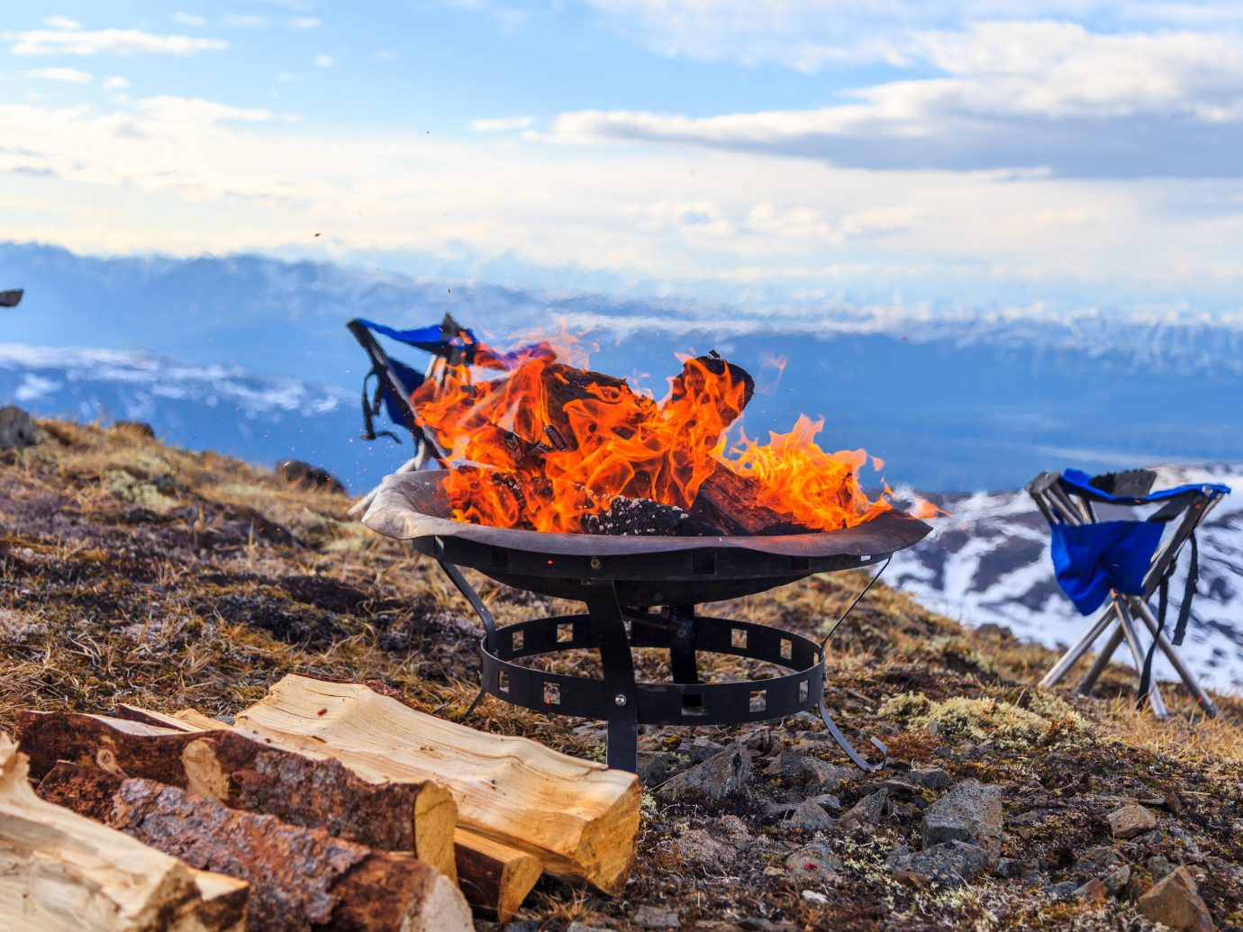 Hotels sky outdoor wilderness mountain geological phenomenon season Winter seat vehicle landscape chair mountain range Sea snow geology autumn mountaineering