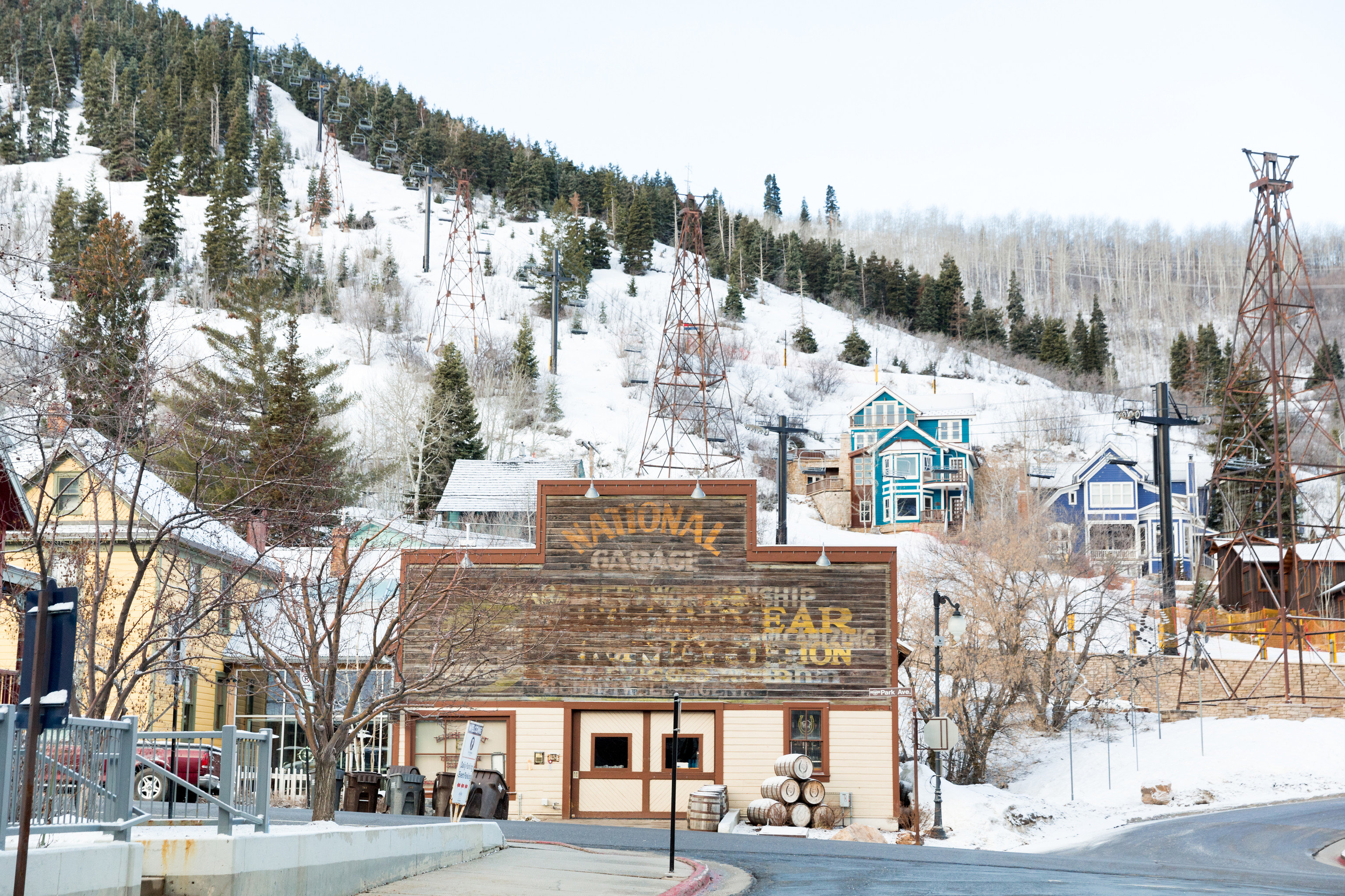 Trip Ideas Weekend Getaways outdoor snow tree Winter Town season Resort ski tow ski slope