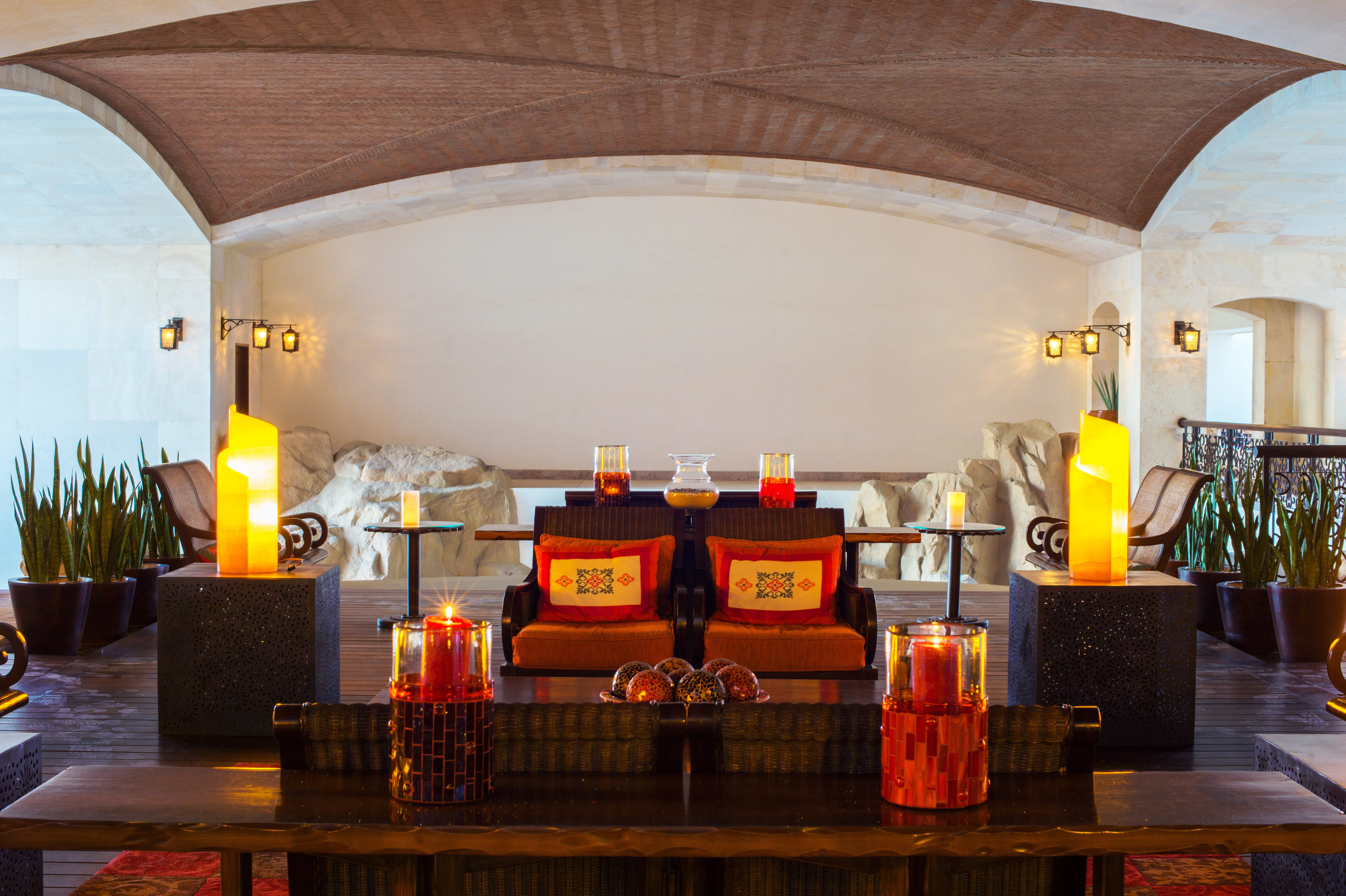 Trip Ideas indoor ceiling estate Lobby restaurant interior design function hall hacienda Resort furniture