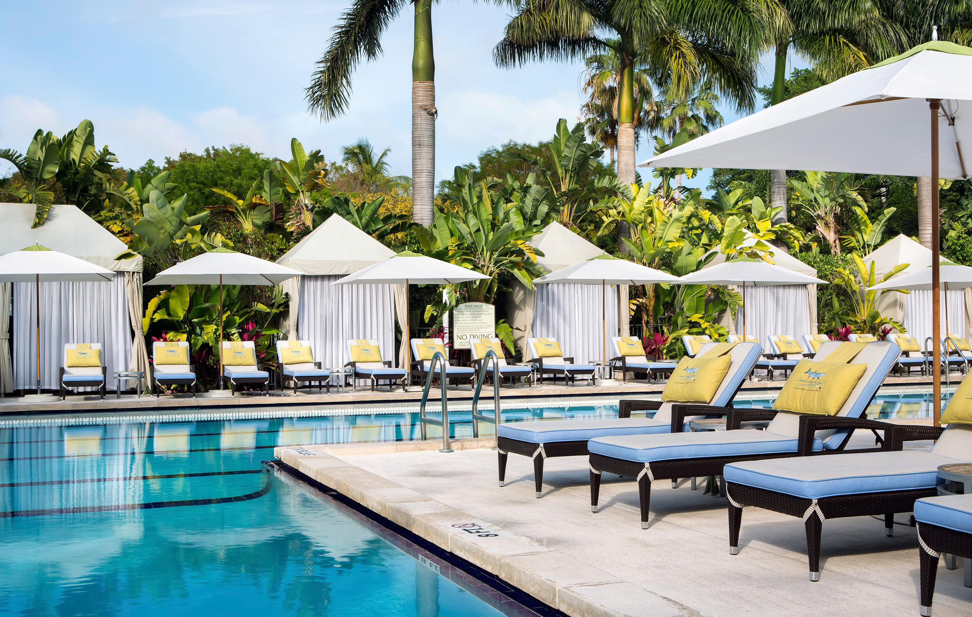 Hotels Island Lodge Lounge Patio Pool Trip Ideas Tropical Tree Outdoor Table Leisure Chair Swimming