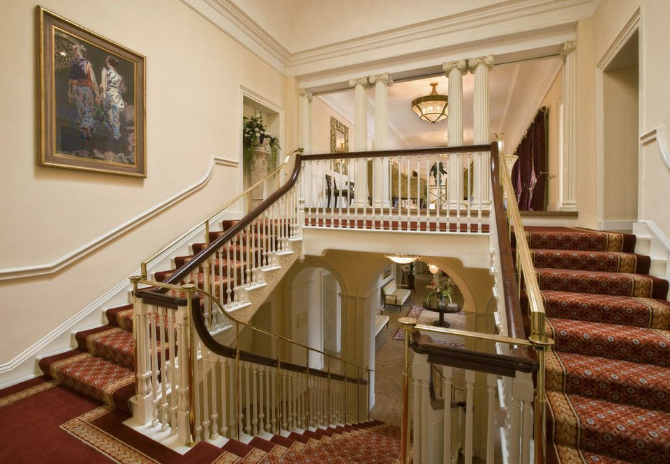 property stairs home mansion living room hall
