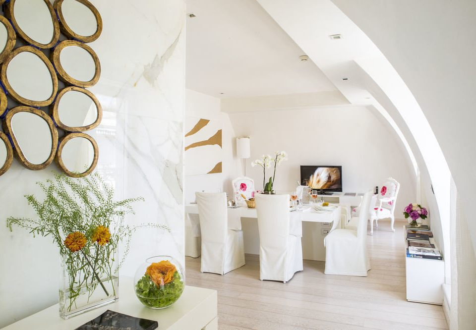 white living room home hall