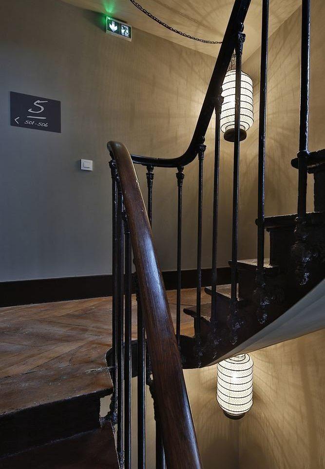 stairs handrail lighting tourist attraction