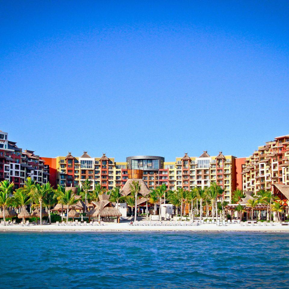 water sky landmark Resort Sea cityscape blue Harbor marina Island shore swimming