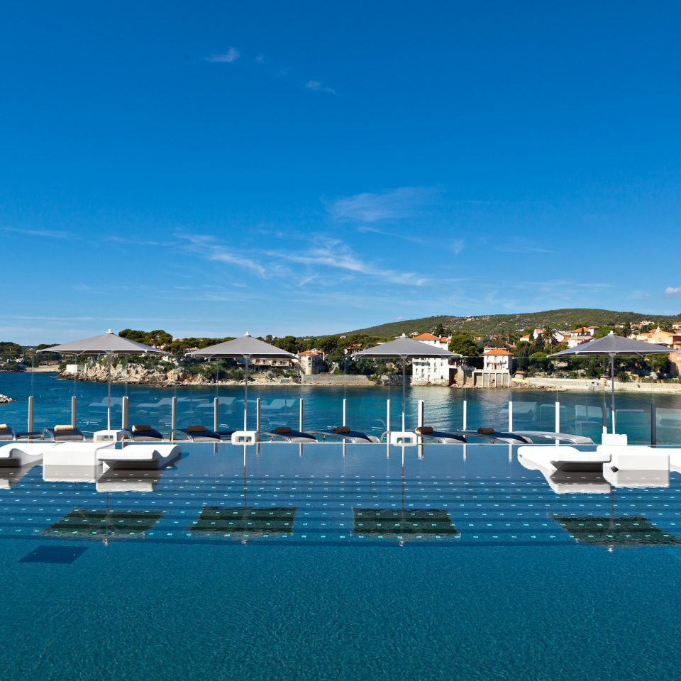 sky water marina blue Sea swimming pool dock Harbor Resort Lagoon day