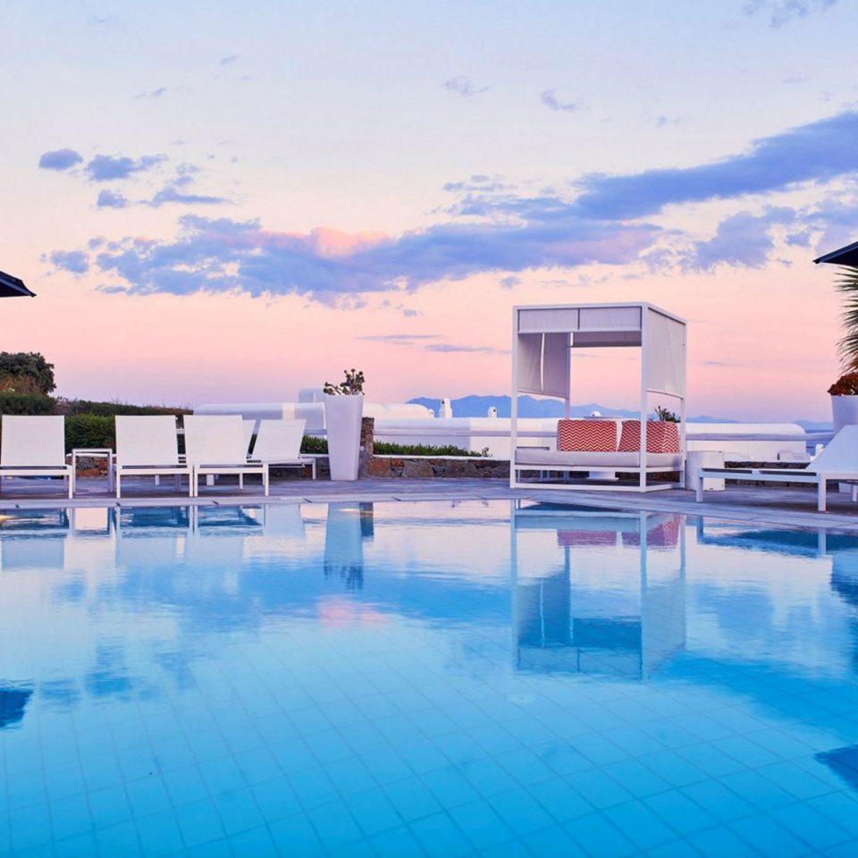 sky water swimming pool leisure property Pool scene Resort blue marina resort town condominium dock Villa swimming Harbor