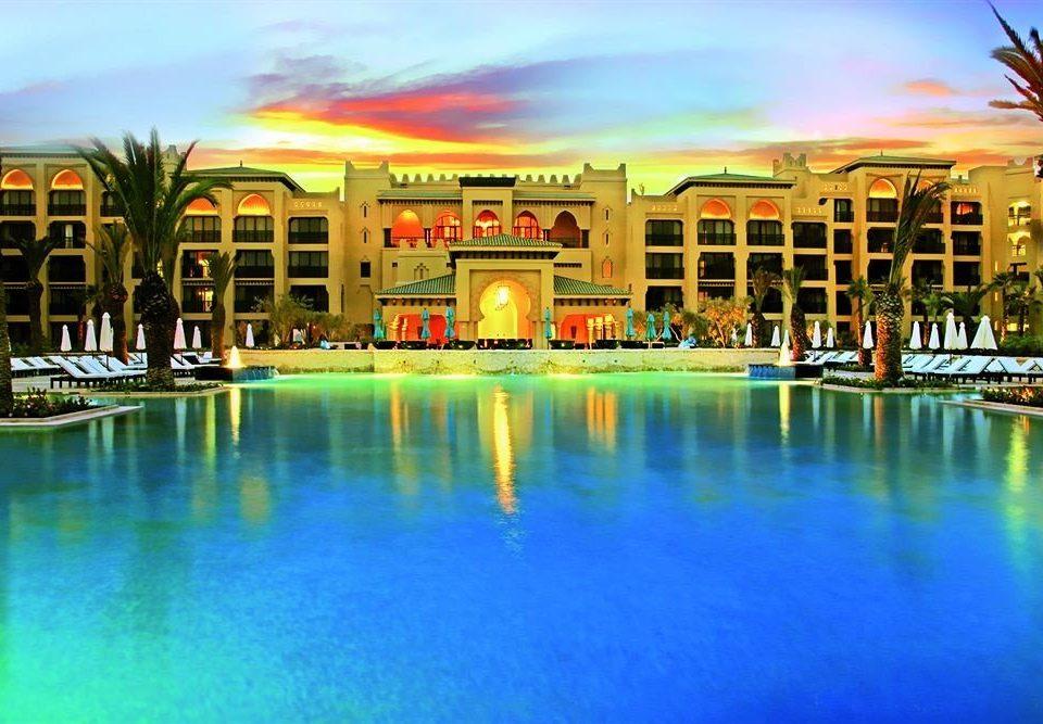 sky water swimming pool property leisure Resort condominium plaza resort town Harbor colored colorful