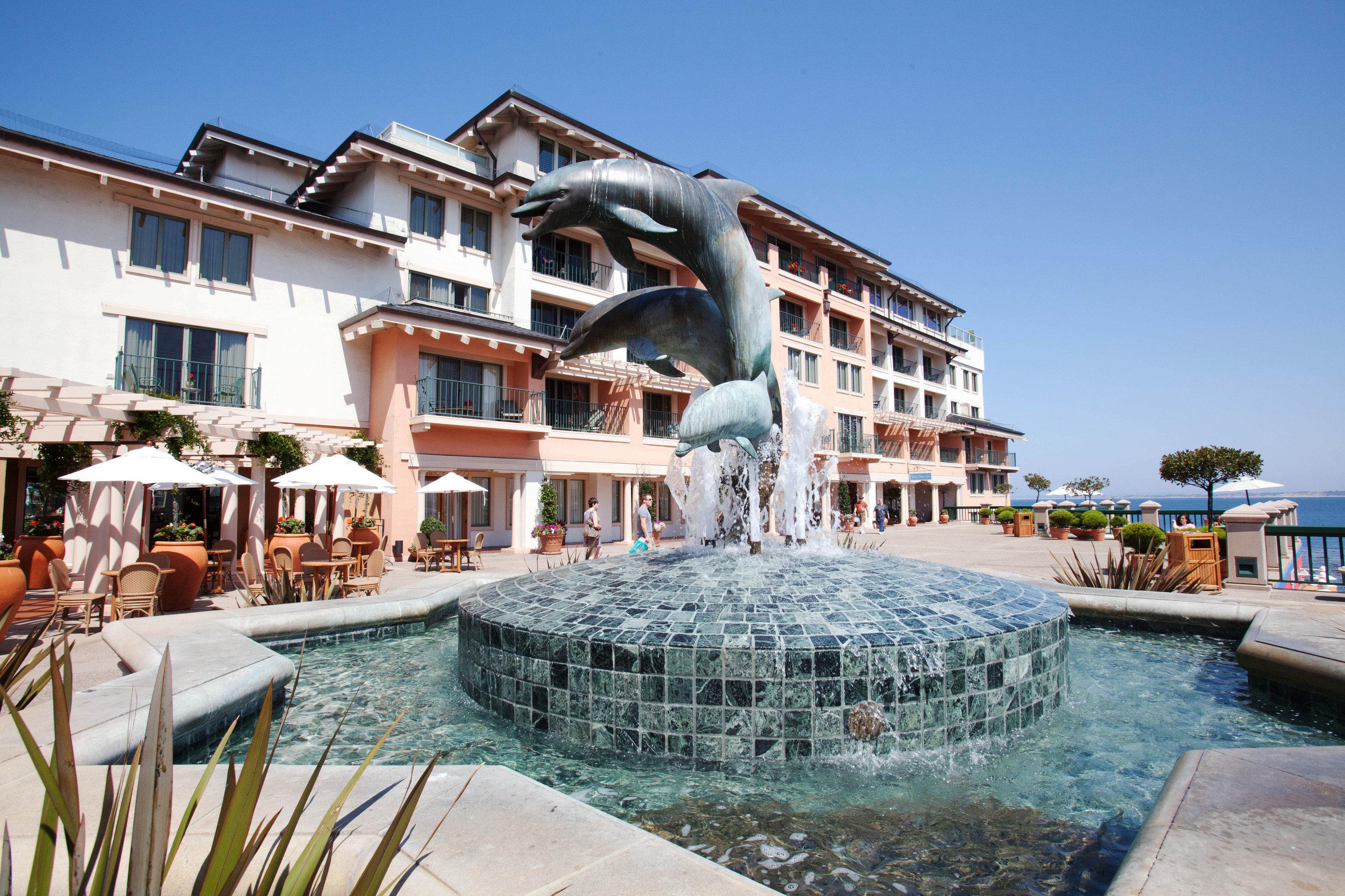 building sky leisure Resort Town house swimming pool plaza marina dock palace condominium lawn Harbor stone