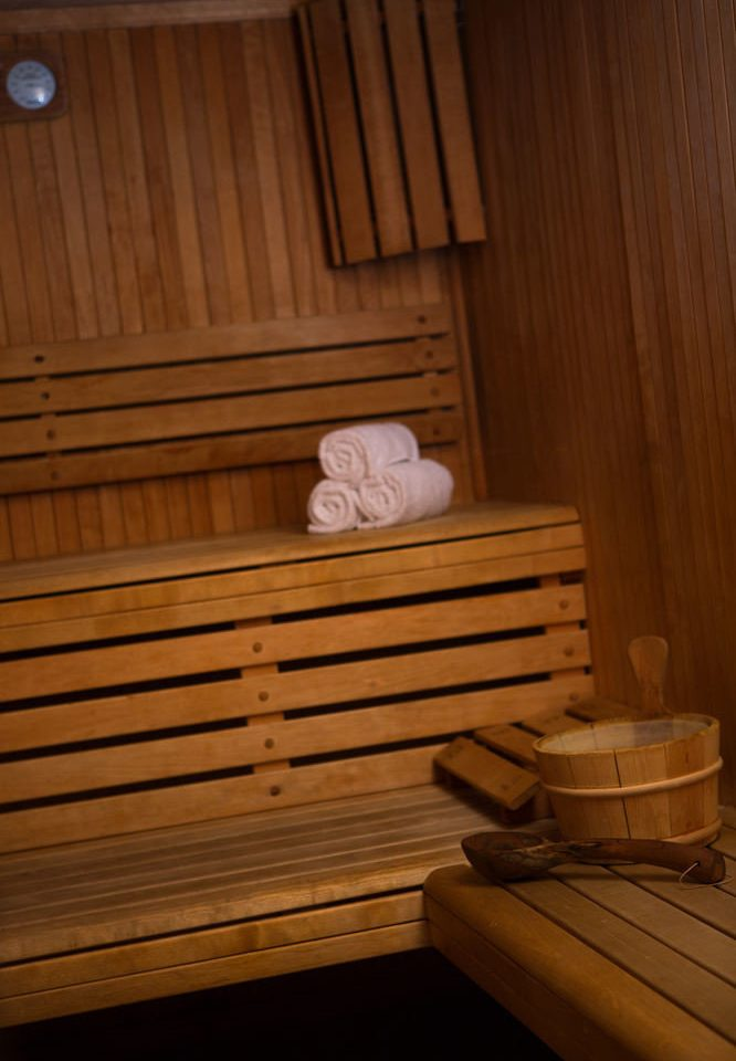 man made object wooden hardwood sauna