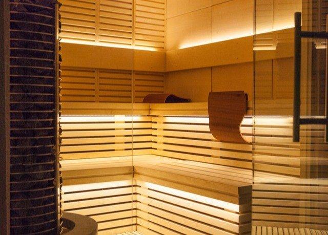 hardwood sauna