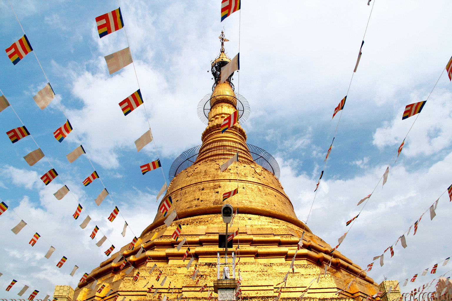 stupa tower landmark place of worship pagoda temple wat hindu temple