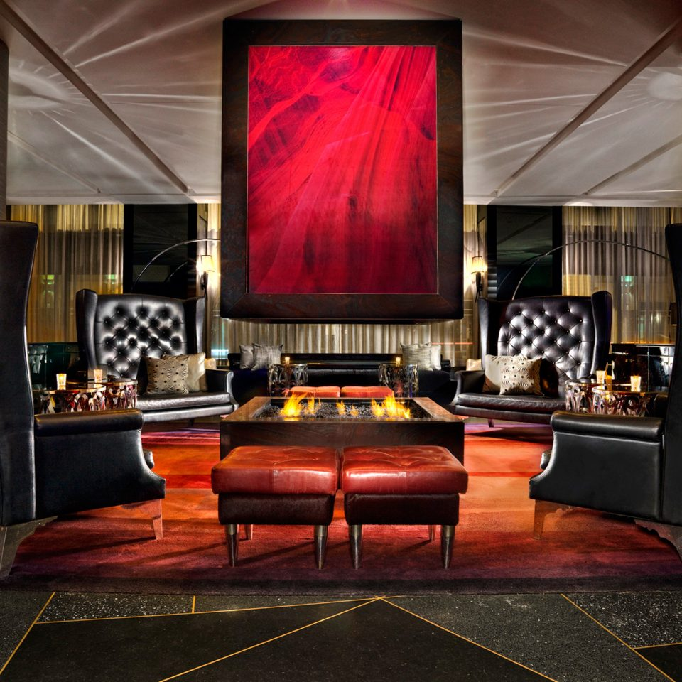Hip Historic Lounge Modern Lobby living room stage recreation room red theatre modern art screenshot flooring