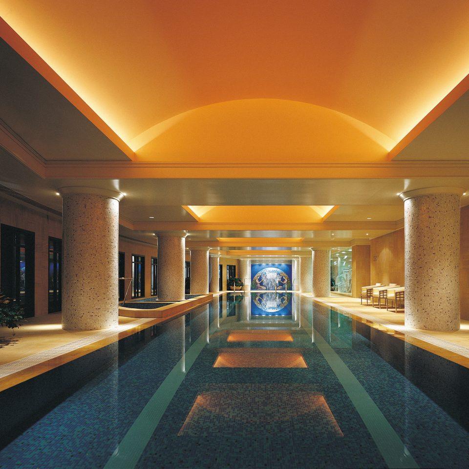 Hip Lounge Luxury Modern Pool building billiard room recreation room swimming pool lighting Lobby function hall convention center mansion long Island
