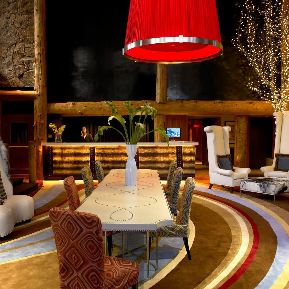 Hip Lobby color living room theatre restaurant tourist attraction