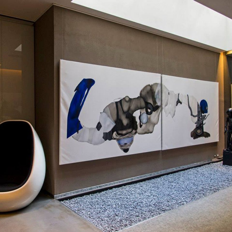 Hip Lobby Lounge art modern art art gallery tourist attraction mural