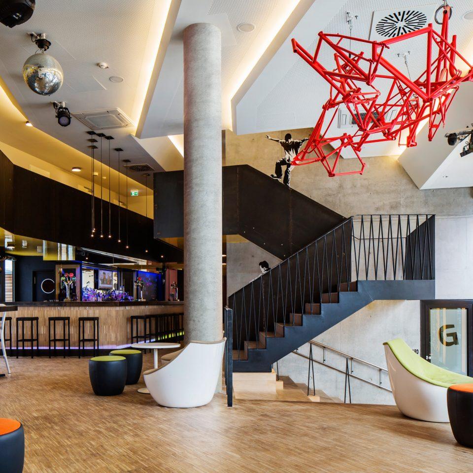 Hip Lounge Luxury Modern Lobby