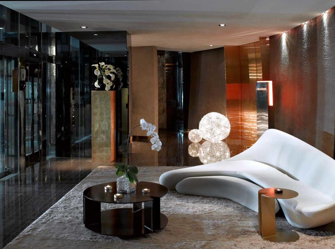 Hip Lounge Luxury Modern Lobby property home lighting condominium living room Suite mansion