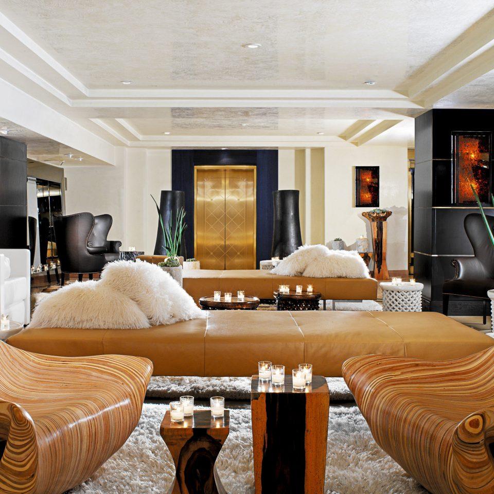Hip Lounge Luxury Modern sofa living room property home Suite Lobby condominium mansion Villa