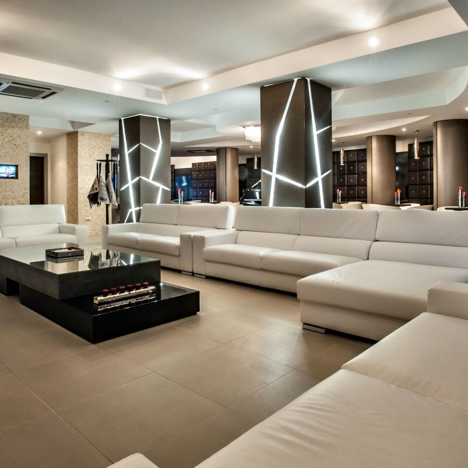 Hip Lounge Luxury sofa living room property white Lobby home yacht condominium vehicle lighting passenger ship mansion Modern