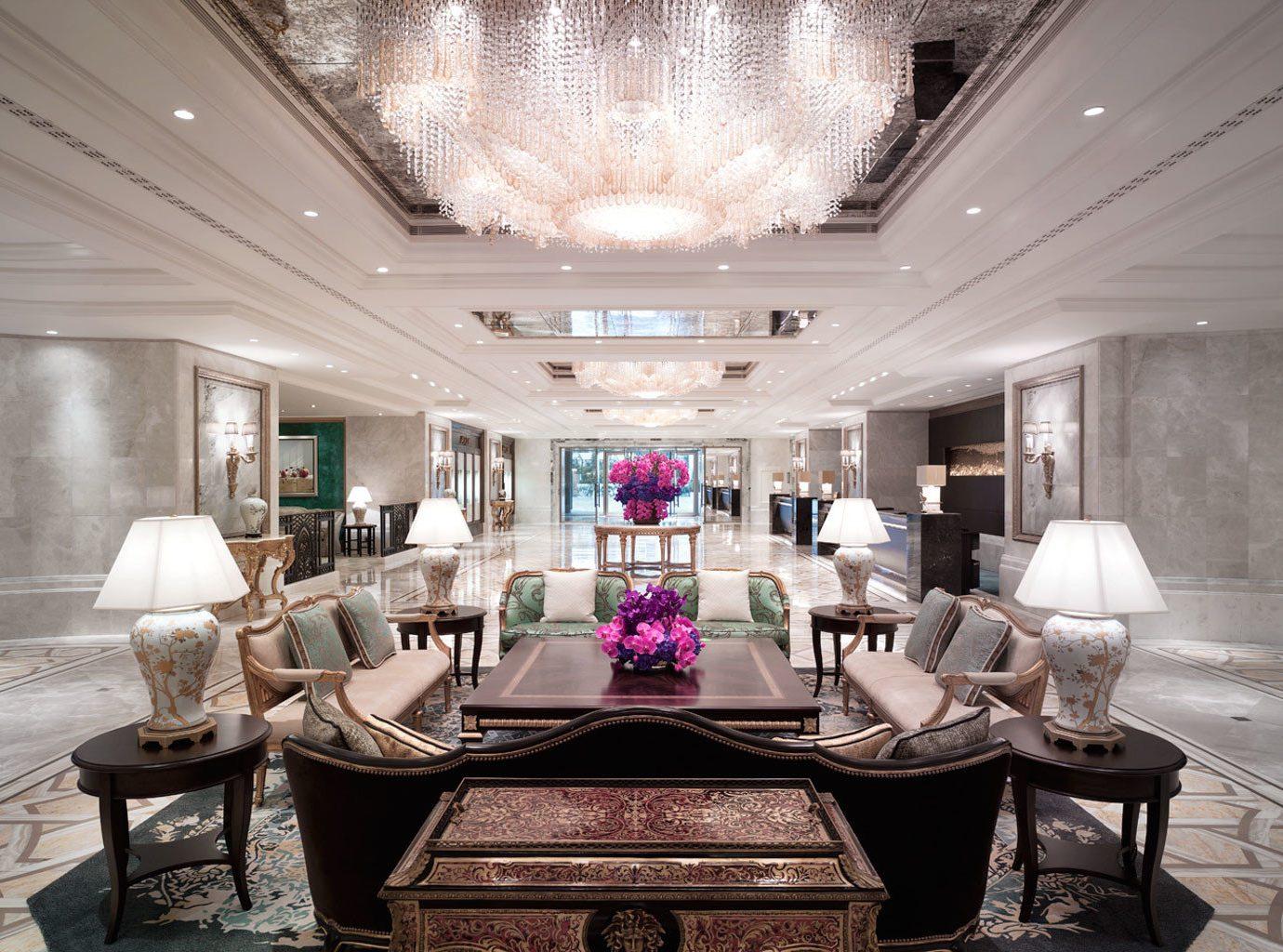 Hip Lounge Luxury Modern property living room Lobby home mansion lighting
