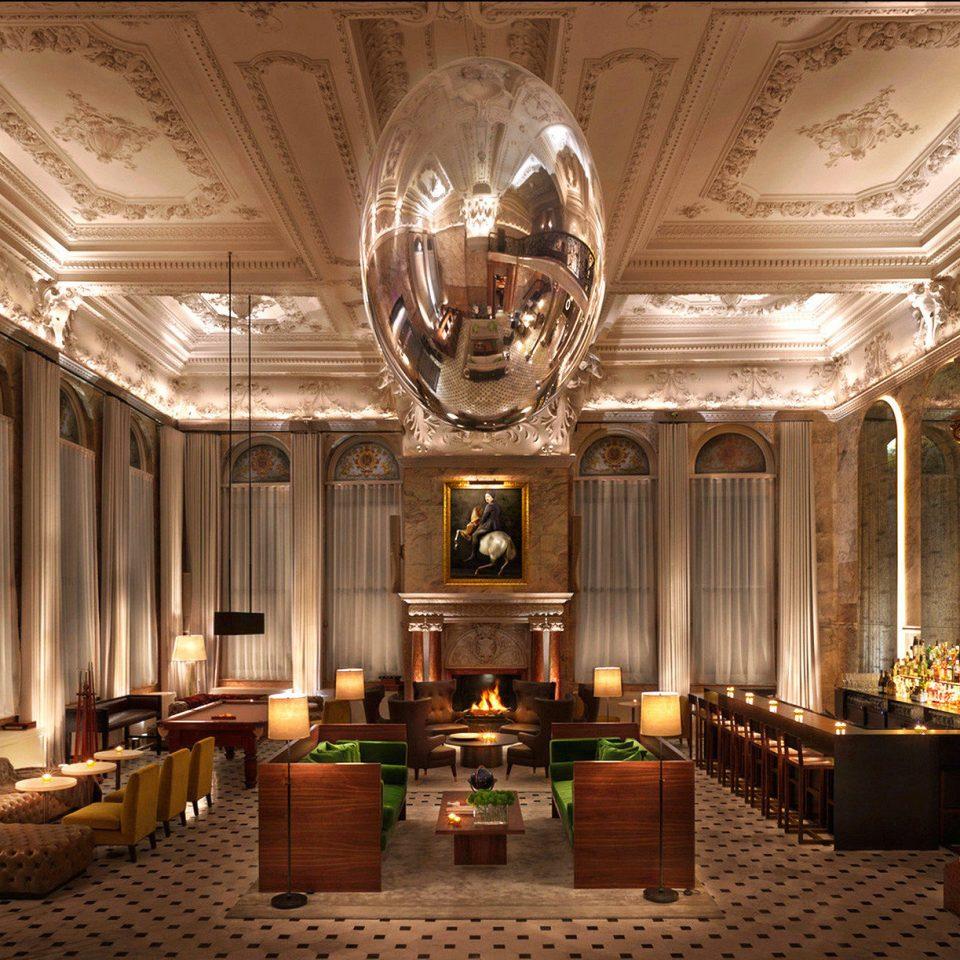 Hip Lounge Luxury Modern Lobby lighting ballroom mansion palace function hall altar