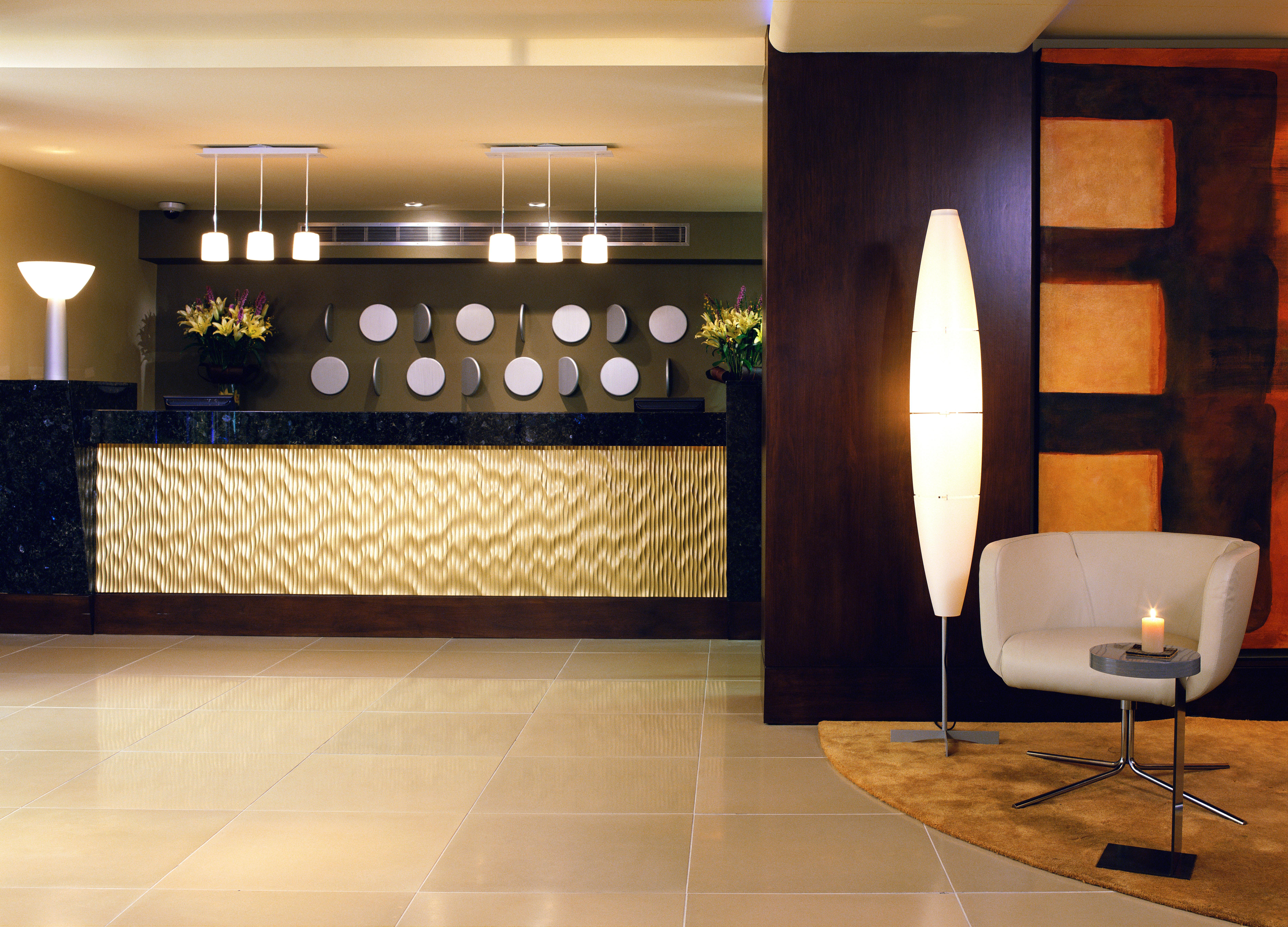 Hip Lounge Luxury Lobby flooring lighting wood flooring Suite tiled