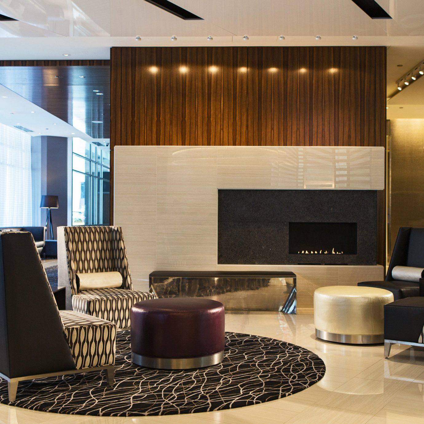 Hip Lounge Luxury Modern Lobby living room property condominium home lighting flooring Suite