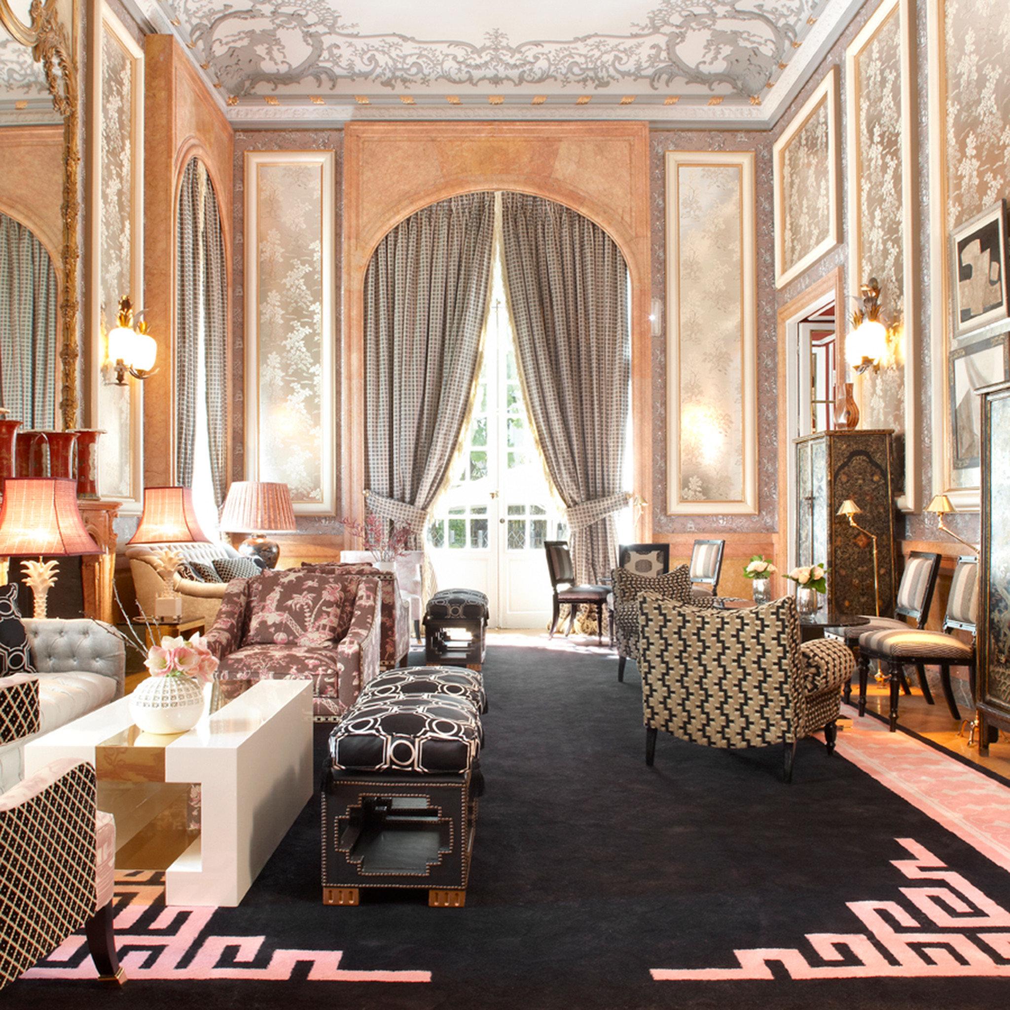 Hip Lounge Luxury Modern property Lobby palace restaurant living room mansion ballroom